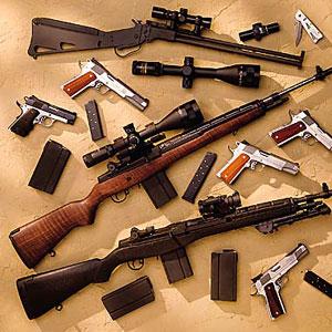 Cameroun : La police camerounaise d�couvre des armes dans un v�hicule  :: CAMEROON