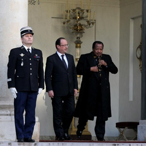 Biya Hollande:Camer.be