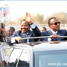 FRANCE - CAMEROUN - CONGO-B : Sassou et Biya malmen�s par Hollande(Flash)