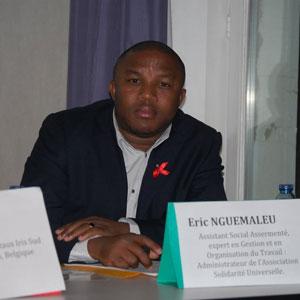 Belgique : Eric Nguemaleu � La guerre contre les IST et le SIDA n'est pas encore gagn�e � :: BELGIUM