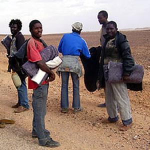 Belgique-Cameroun, Immigration, R�tro:  Pour Elombo, ce voyage n�en finit pas. :: BELGIUM