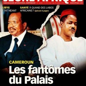 Cameroun: Paul Biya – Jeune Afrique, la crise?:Cameroon