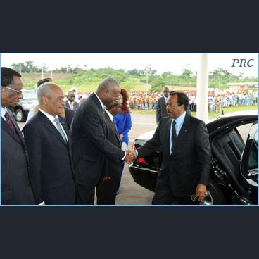 Départ de S.E.M. Paul Biya et Mme Chantal Biya pour la participation du Cameroun à la 64e Conférence des Nations Unies