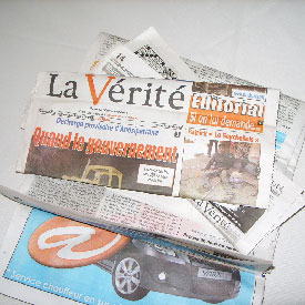 Cameroun,La chronique du Jour:Presse Eto�o, presse caniveau� :: CAMEROON