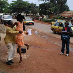 Tournage Film Cameroun:Camer.be