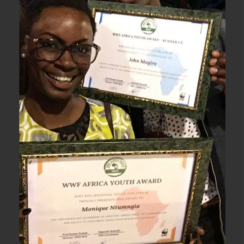une-camerounaise-remporte-le-wwf-africa-youthaward-2017-cameroon