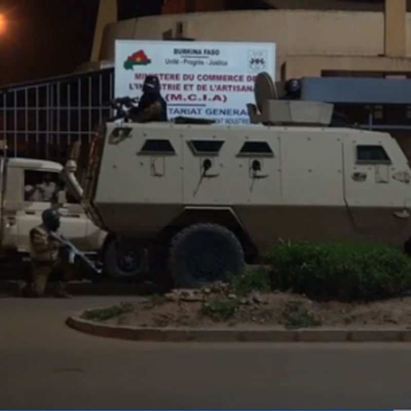BURKINA FASO :: Attaque à Ouagadougou : 18 morts