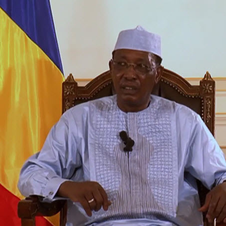 Idriss D?by accuse la France d??tre intervenue au Tchad pour changer la Constitution (VID?O)