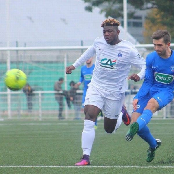 FRANCE-CAMEROUN- FOOTBALL: ULRICH BARDOT: UN JEUNE FOOTBALLEUR CAMEROUNAIS EN DEVENIR A NANCY.