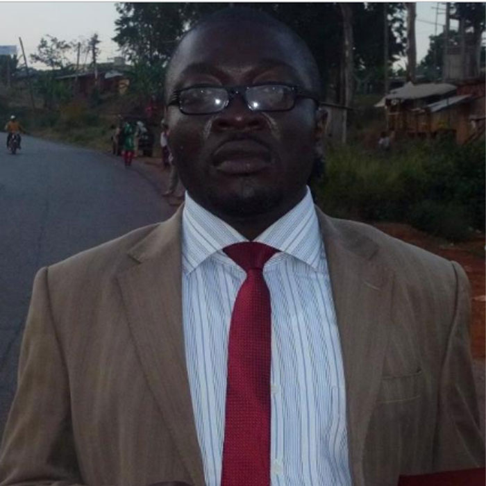 Cameroon:: The Human Rights Defender, Mowha Franklin, missing August 06, 2018, in Kumba
