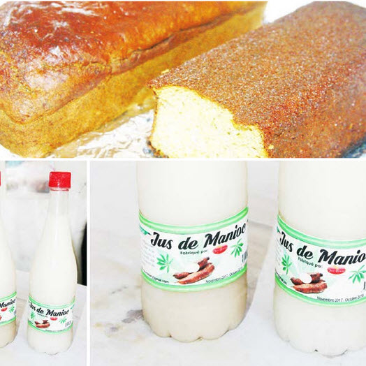 CAMEROUN :: Plantain, manioc, patate : Farines et jus des champs :: CAMEROON