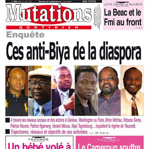 CAMEROUN :: Mise au point : � Monsieur le directeur de la publication de Mutations :: CAMEROON