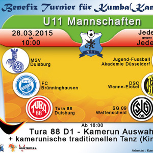 ALLEMAGNE :: Germany - The Nkamanyi Football Initiative: A tournament to support the kids of Kumba in cameroon