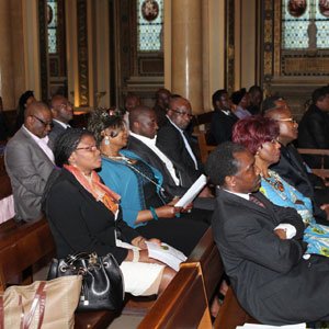 FRANCE - CAMEROUN : UNE MESSE DE REQUIEM A PARIS POUR MAMA ROSETTE MERE DE CHANTAL PULCHERIE BIYA