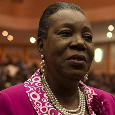 SÉNÉGAL :: Catherine Samba Panza, chef de la mission de l'UA au Sénégal :: SENEGAL
