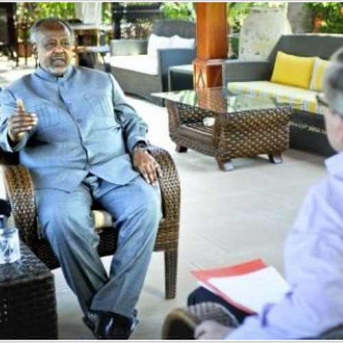 Djibouti : Le Pr�sident a pay� 800.000 � � un magazine pour une interview