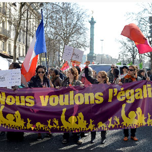 Manif 8 mars Paris:Camer.be