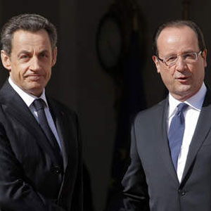 Sarkozy Hollande:Camer.be