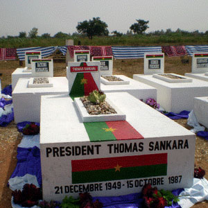 Tombe Sankara:Camer.be
