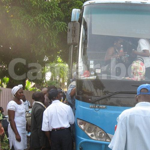 Transport urbain : Les premiers bus sont là