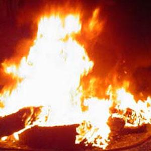 Il brûle son père pour la succession à Douala