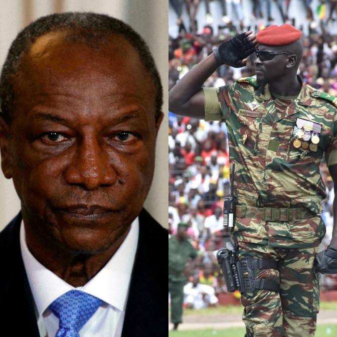 Le dictateur Alpha Condé encensé, le « putschiste » Mamady Doumbouya condamné
