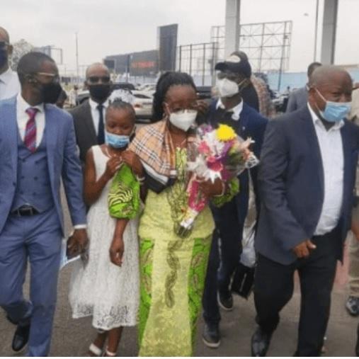 La veuve de Floribert Chebeya à Kinshasa, après 10 ans d'exil