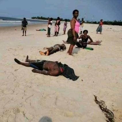Les corps des  04 Camerounais morts de noyade au Gabon, rapatriés