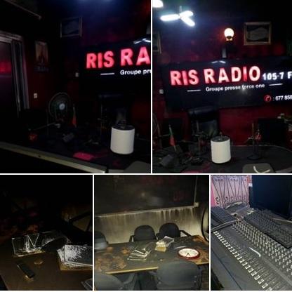 Incendie à RIS radio: Les messages de réconfort des confrères et de Maurice Kamto à Sismondi Bitjocka