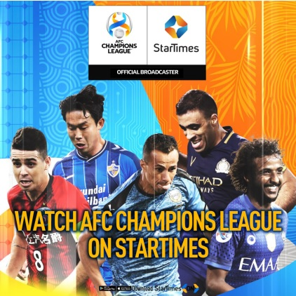 AFC and StarTimes confirm media rights in Africa