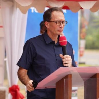 """Adrien Béchonnet, DG de Total Cameroun """"Le CHAN Total Cameroun 2021 a été une véritable réussite """""""