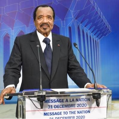 Discours à la nation du 31 décembre 2020 : Paul Biya est il le maitre du jeu ?