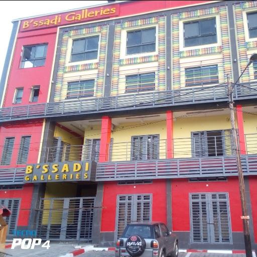 Centre commercial B'SSADI, une gallérie futuriste dans l'arrondissement de Douala Ve