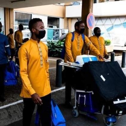 CHAN Total Cameroun 2020: La délégation Rwandaise est arrivée