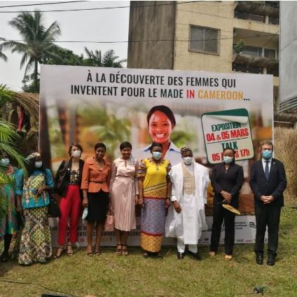 """Les femmes du Gicam"" exposent le made in Cameroon"