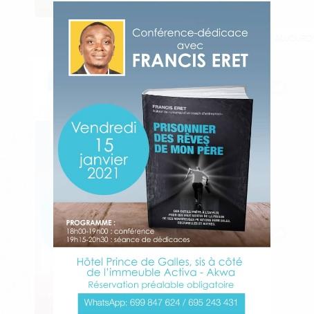 Orientation professionnelle: Francis Eret encourage les jeunes à conquérir leur rêve