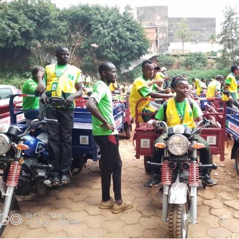 Yaoundé 5: La société Hyper Clean lance la pré collecte des ordures ménagères à domicile