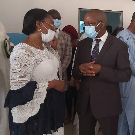 Visite du Ministre de la Santé Publique dans les formations sanitaires de la Haute Sanaga