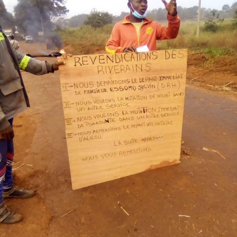 Mouvement d'humeur à  Sosucam:  Employés et riverains bloquent la cité des cadres