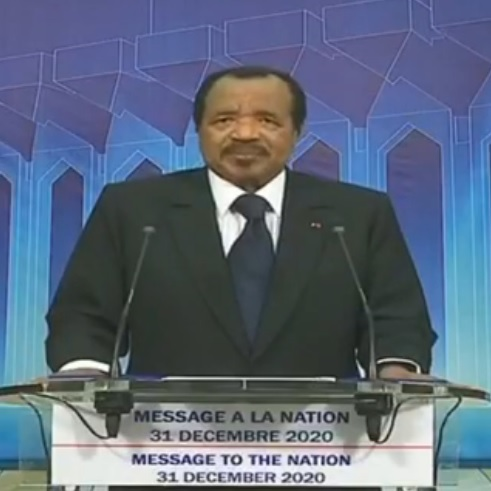 Message du Chef de l'Etat à la Nation à l'occasion de la fin d'année 2020 et du Nouvel An 2021