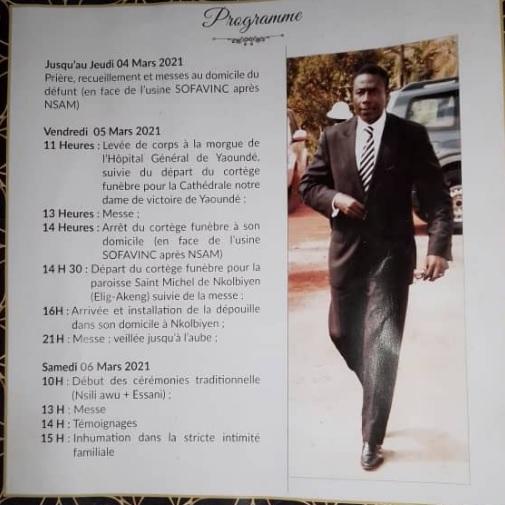 Nécrologie : Pierre Essomba le SG du Minat entame son dernier voyage ce jour