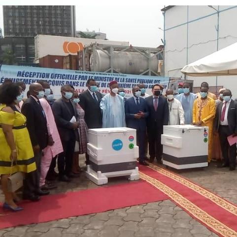 Le Cameroun se dote de nouveaux équipements de la chaîne de froid pour les vaccins