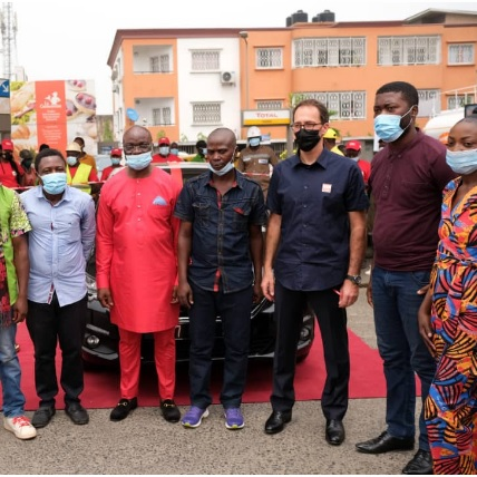 CHAN TOTAL CAMEROUN 2020 : Total célèbre ses champions  à Douala