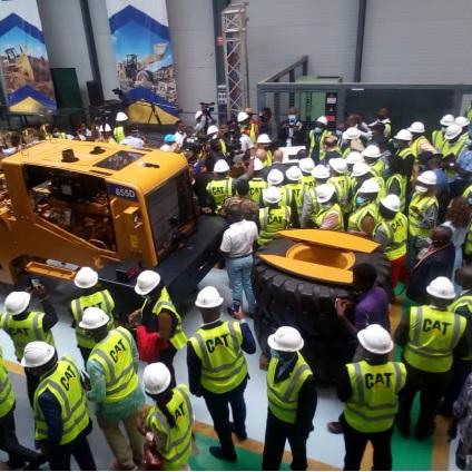 Usine d'assemblage matériels génies civils:L'industrialisation Tractafric Equipment du port de Kribi