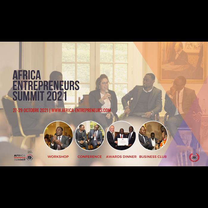 COMMUNIQUE DE PRESSE: LES ENTREPRENEURS AFRICAINS LANCENT LEUR SOMMET DU 27 AU 29 OCTOBRE 2021