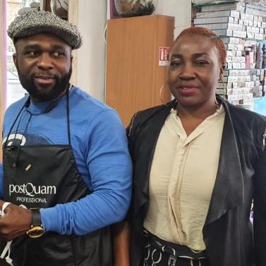 France: « Cindy Fashion », la coupe afro d'un couple camerounais