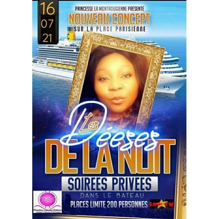 LES DEESSES DE LA NUIT: NOUVEAU CONCEPT, SOIREE PRIVEE SUR LA SEINE A PARIS