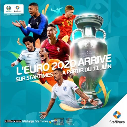 StarTimes: L'Euro 2020, tournoi le plus attendu de 2021