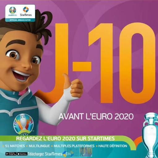 Euro 2020: Plus de choix avec Startimes