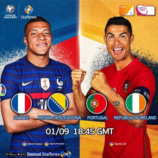 Eliminatoires européens : Italie, France, Portugal et Angleterre de retour pour de l'action de haut